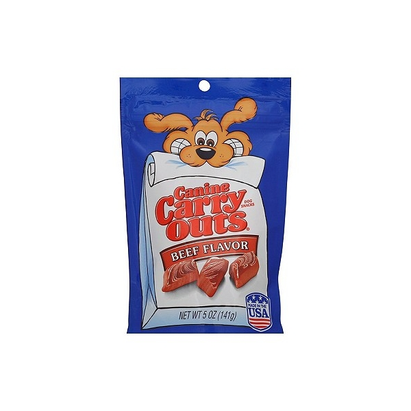 Canine Carry Outs Beef Dog Treats - 5oz