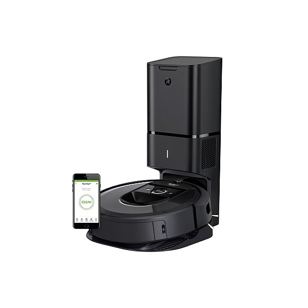 iRobot Roomba i7+ (7550) Wi-Fi Connected Robot Vacuum with Automatic Dirt Disposal, Black